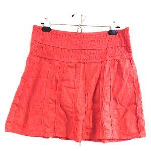 PrAna Breathe Cotton Raw Edge Erin Skirt